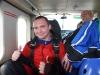 10 - lecie pracy w branży okiennej, skok ze spadochronem
